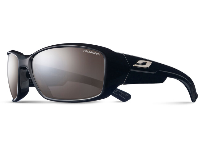 Julbo Whoops Polarized 3 Sunglasses Shiny Black-Gray Flash Silver
